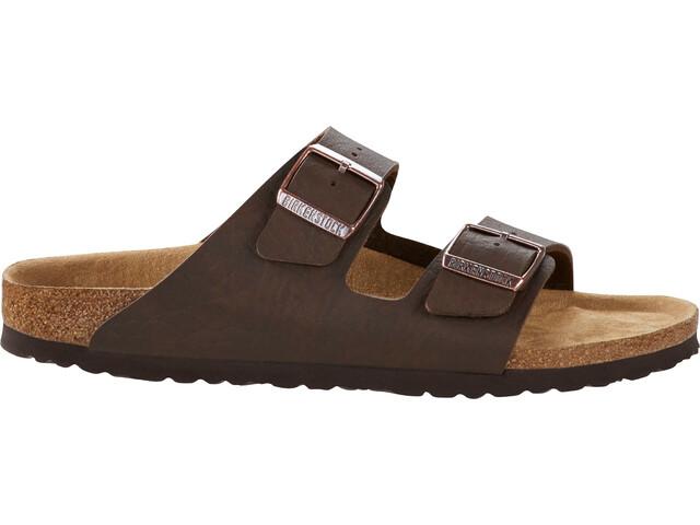 Birkenstock Arizona Sandals Birko-Flor Saddle Matt Vegan Regular Men, brown